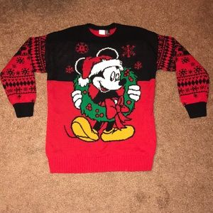 Disney Christmas sweater, medium